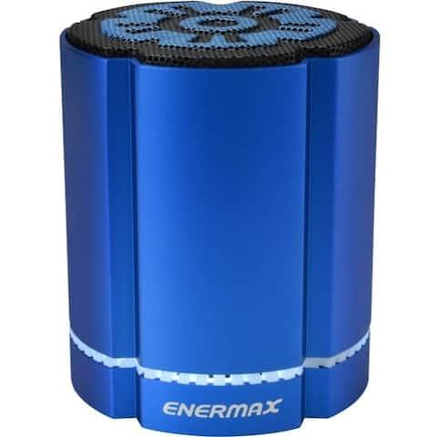 Enermax STEREOSGL EAS02S-BL Bluetooth Speaker System - 4 W RMS - Blue