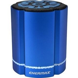 Enermax STEREOSGL EAS02S-BL Speaker System - 4 W RMS - Wireless Speak