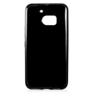 Insten Black TPU Rubber Candy Skin Case Cover For HTC One M10