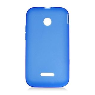 Insten Blue Frosted TPU Rubber Candy Skin Case Cover For Huawei Prism II U8686