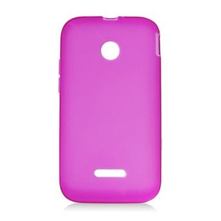 Insten Hot Pink Frosted TPU Rubber Candy Skin Case Cover For Huawei Prism II U8686