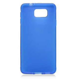 Insten Blue Frosted TPU Rubber Candy Skin Case Cover For Samsung Galaxy Alpha SM-G850A (ATT)/ SM-G850T (T-Mobile)
