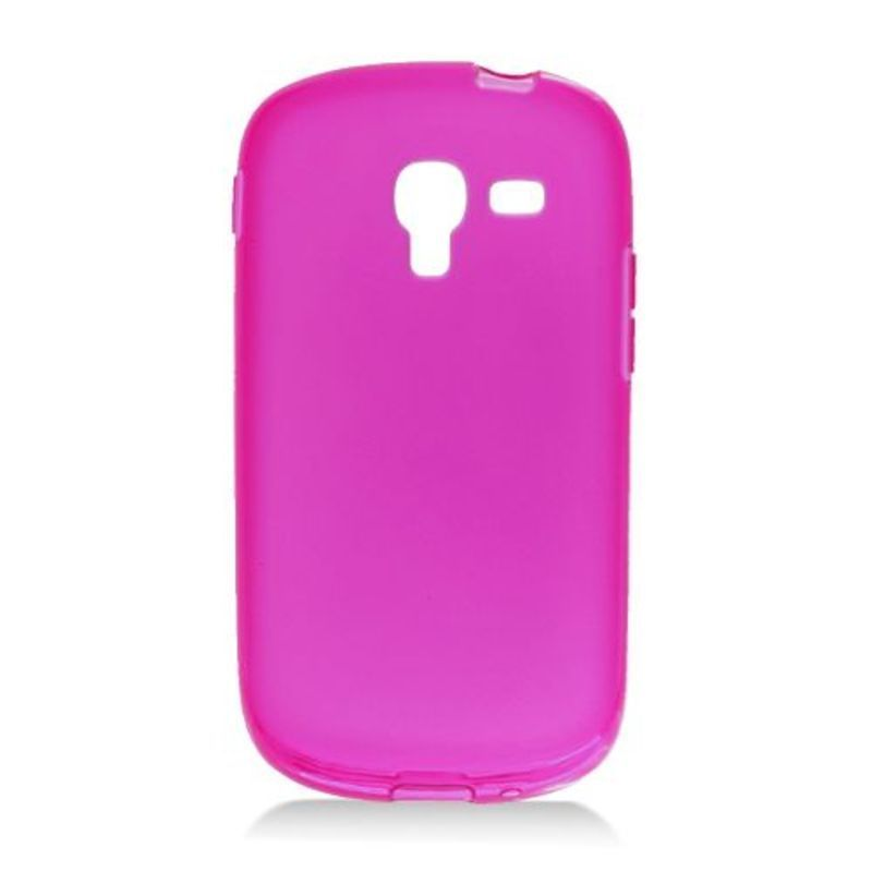 Insten Purple Frosted TPU Rubber Candy Skin Case Cover Fo...