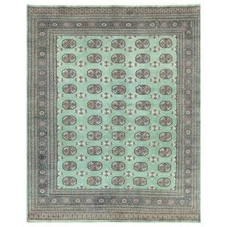 Handmade Bokhara Wool Rug (Pakistan) - 6'7 x 8'2