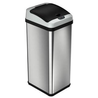 trash cans shop the best deals for dec 2017. Black Bedroom Furniture Sets. Home Design Ideas