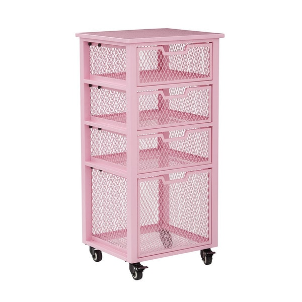 Rolling Cart W 4 Drawer Chest Grizzly