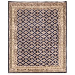 Herat Oriental Pakistani Hand-knotted Bokhara Wool Rug (8' x 9'11)