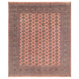 Handmade Herat Oriental Pakistani Bokhara Wool Rug - 8'2 x 9'7 (Pakistan)
