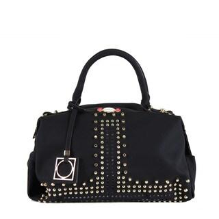 Nikky Hestia Black Boston Satchel Handbag