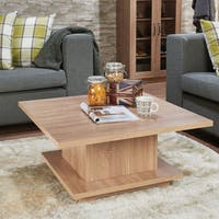 Acme Furniture Tally Weathered Oak Wood Coffee Table