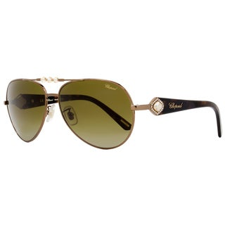 Chopard Women's Bronze/Green Gradient Polarized Lens Sunglasses