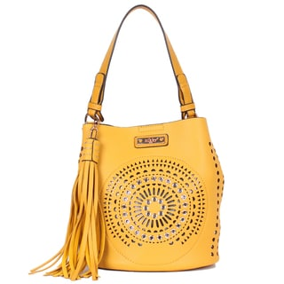 Nikky Chantal Yellow Hobo Bag