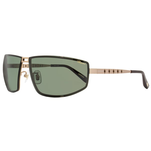 d1d4d44caf2 Shop Chopard SCHB02M L45P Men s Satin Rose Gold Frame Green Polarized Lens  Sunglasses - Free Shipping Today - Overstock - 15312355
