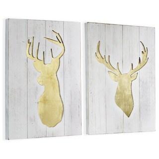 Gold Leaf Deer
