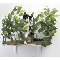 On2Pets Floating Cat Wall Shelves (Set of 2)