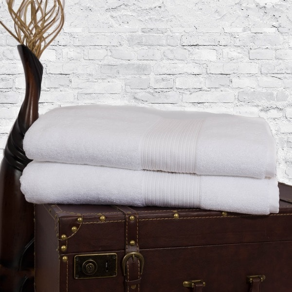 Somette Concierge Hotel Turkish Cotton Bath Towel (Set of 2)