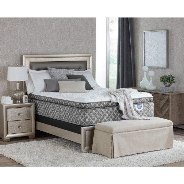 shop spring air shelby pillow top california king size mattress free shipping today. Black Bedroom Furniture Sets. Home Design Ideas