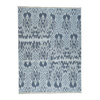 1800GetARug Ikat Design Soumak Hand-Woven Flat Weave Oriental Rug (8-feet 8-inches x 11-feet 9-inches)