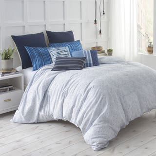 Under The Canopy Shibori Chic Blue 100-Percent Certified Organic Cotton Duvet Set|https://ak1.ostkcdn.com/images/products/15312756/P21778925.jpg?impolicy=medium
