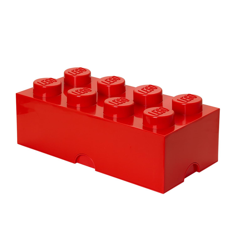 Lego Storage Brick 8 Bright Red (G848442025010)