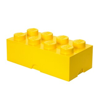 LEGO Storage Brick 8 Yellow