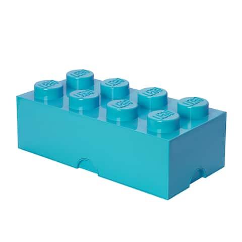 LEGO Storage Brick 8 Medium Azur - Multi