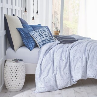 Under The Canopy Shibori Chic Blue Comforter Set (3 options available)