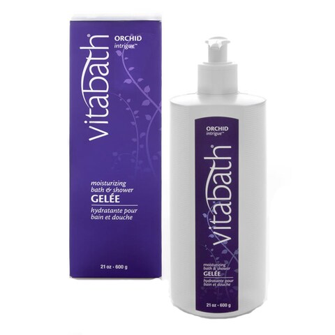 Vitabath Orchid Intrigue Moisturizing 21-ounce Bath & Shower Gelee