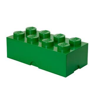 LEGO Storage Brick 8 Dark Green https://ak1.ostkcdn.com/images/products/15312860/P21779040.jpg?impolicy=medium