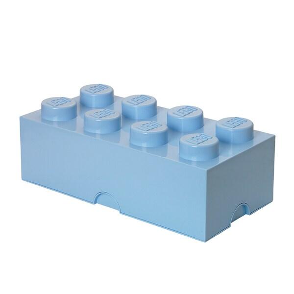 LEGO Storage Brick 8 Light Royal Blue