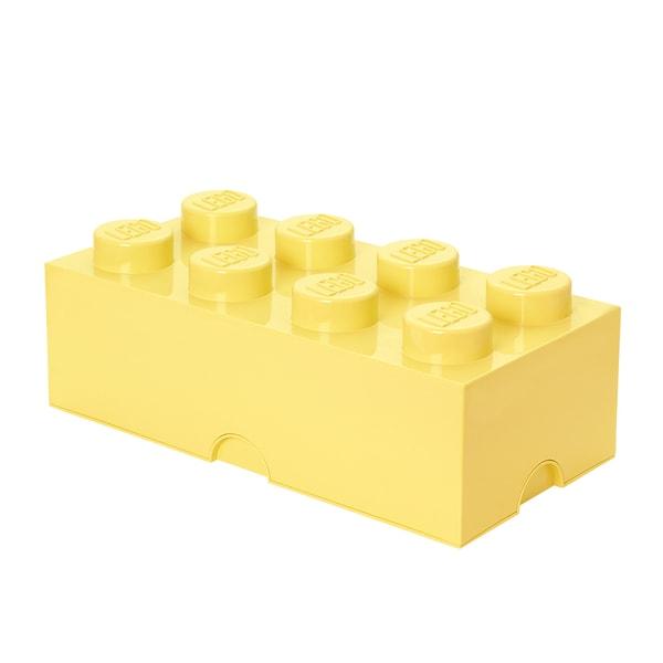 LEGO Storage Brick 8 Cool Yellow