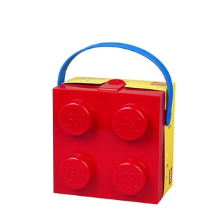 LEGO Lunchbox with Handle Bright Red