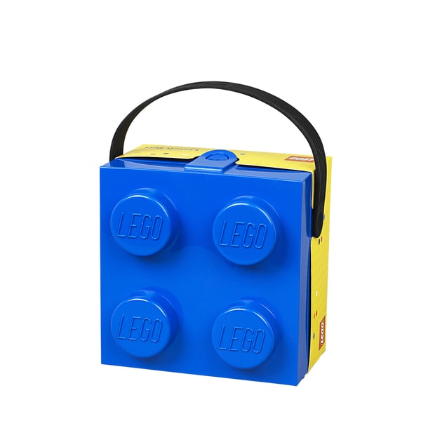 LEGO Lunchbox with Handle Bright Blue