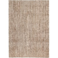 Jani Zane Natural and Ivory Jute and Upcycled Cotton Rug - 8' x 10'