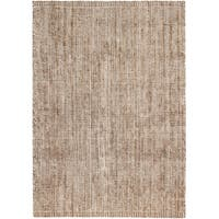 Jani Zane Natural and Ivory Jute and Upcycled Cotton Rug