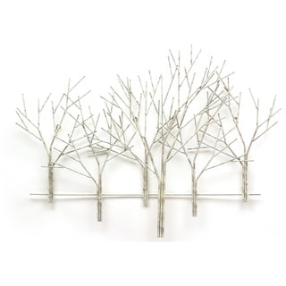 Winter Orchard Metal Wall Art by Metal Perspectives
