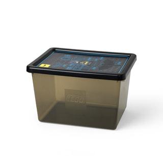 LEGO Batman Storage Box Large Transparent Black