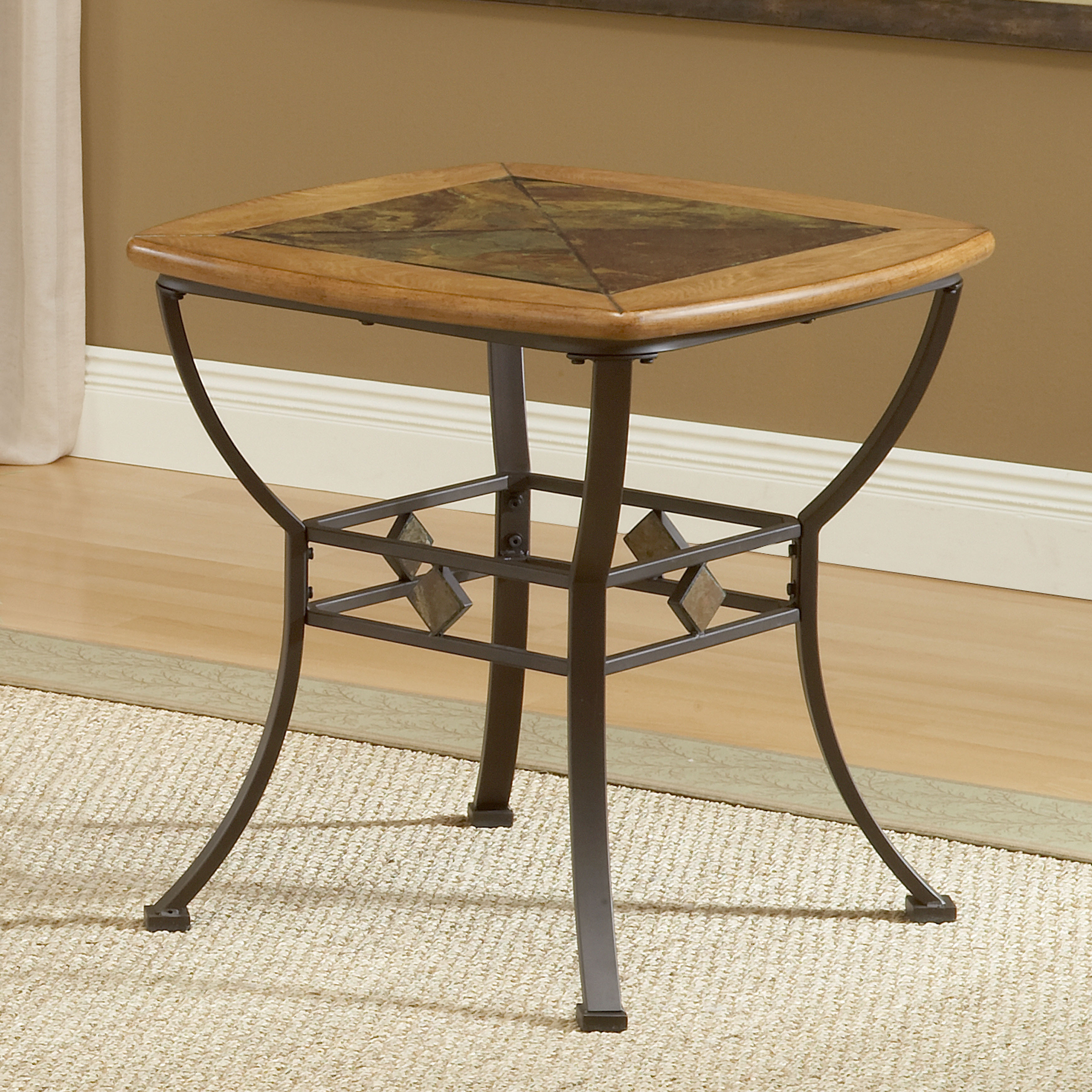 Hillsdale Furniture Lakeview Medium Oak, Coppery Brown Me...