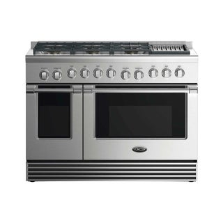 """DCS 48"""" Gas Range: 6 Burners With Grill"""