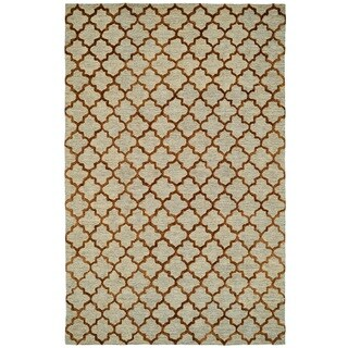 Broadway Gold Area Rug (5 x 8)