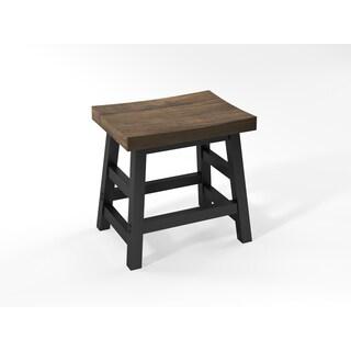 Pomona - Reclaimed Wood Barstool with Metal Legs