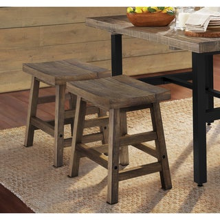 Link to Carbon Loft Lawrence Reclaimed Wood Dining Stool Similar Items in Dining Room & Bar Furniture
