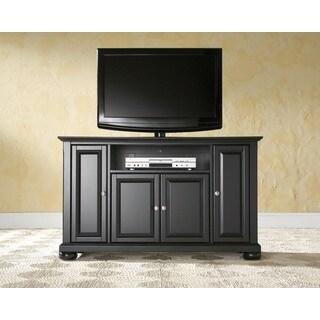 Crosley Furniture Alexandria Black Wood 48-inch TV Stand