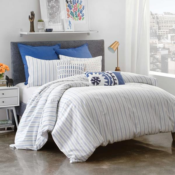 Under The Canopy Amalfi Stripe Comforter Set