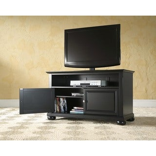 "Alexandria 42"" TV Stand in Black Finish"