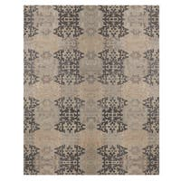 Excell Tile Path Area Rug Grey (8'x10')
