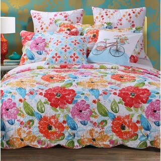 Esme Bonus Reversible 5-piece Quilt Set