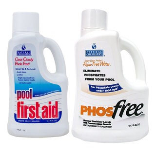 Natural Chemistry Pool First Aid, 2 Liters and PHOSfree, 3 Liters
