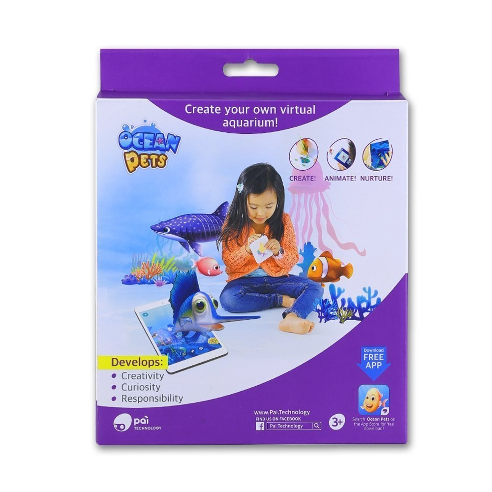 Ocean (Blue) Pets Kids Toy Clay and Dough Artist Studio, ...