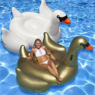 Swimline Giant Golden Goose Combo 2-Packs